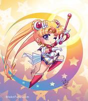 .: Chibi Super Sailor Moon :. by Mako-Fufu