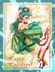 .:Happy Holidays 09:. + video by Mako-Fufu