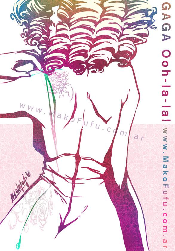 .:Gaga Oh-la-la:. by Mako-Fufu