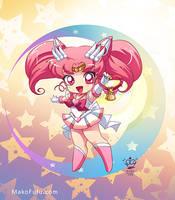 .: Super Sailor Chibi Moon :. by Mako-Fufu
