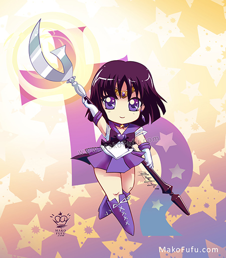 .:Chibi Super Sailor Saturn:. by Mako-Fufu