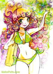 HoneyComb - SketchBrunch 4 by Mako-Fufu
