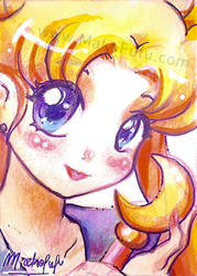 ACEO 1- Usagi Tsukino-for sale by Mako-Fufu