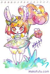 .:Bunny Birtdhay :. by Mako-Fufu