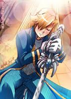 97 KeyWord Commish: Angel + Loyalty by Mako-Fufu