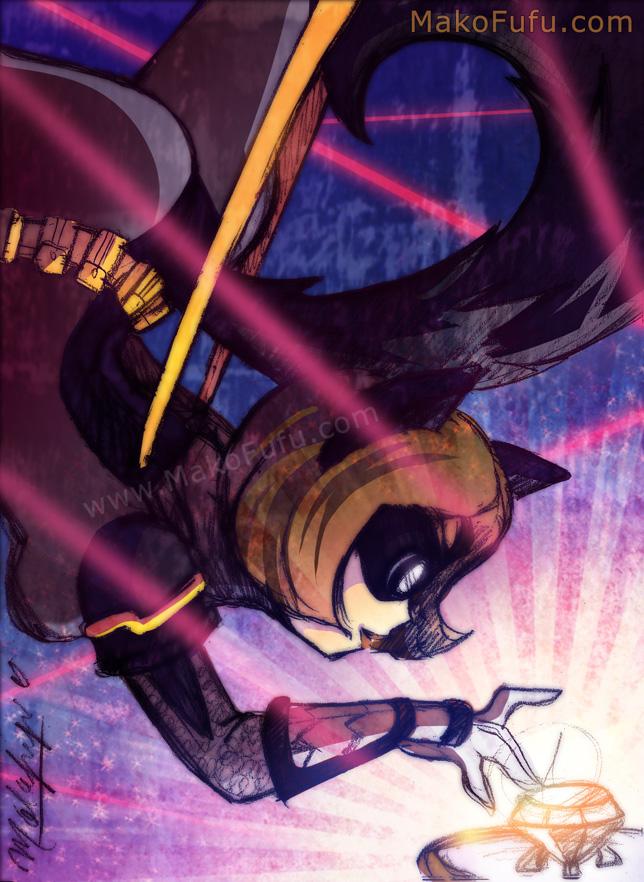 102 KeyWord Commish: Sable Fox + Thief by Mako-Fufu