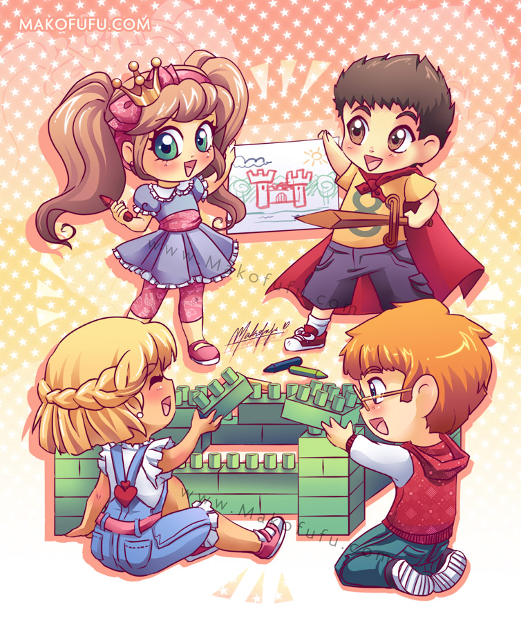 Children Rights - Friends by Mako-Fufu