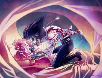 .: Sleep Paralysis :. commission by Mako-Fufu