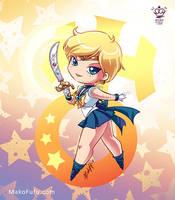 .: Chibi Super Sailor Uranus :. by Mako-Fufu