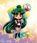 .: Chibi Super Sailor Pluto :. by Mako-Fufu