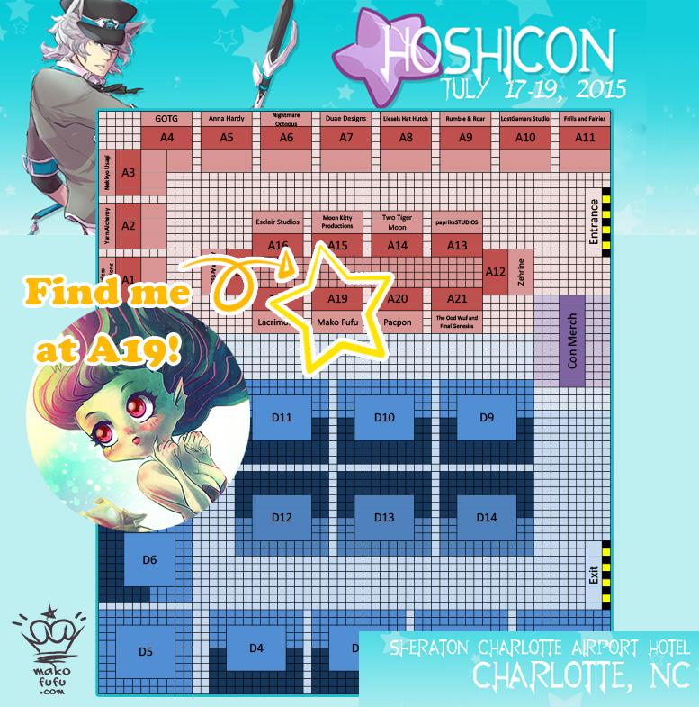 Hoshicon - AA A19 by Mako-Fufu