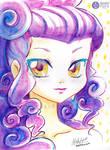 Pentel  Sample - Purple girl