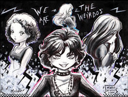 .: We are the Weirdos :. The Craft - 2015 by Mako-Fufu