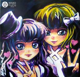 .:Lolita Dolls:. 2012 by Mako-Fufu
