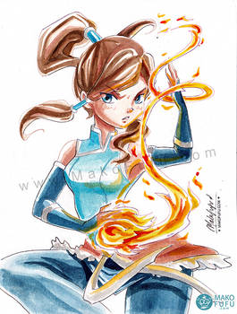 .: Korra :. NYCC 2016 Commission Preorder