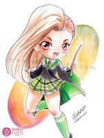 .: Kayla - Slytherin :. Commission by Mako-Fufu