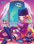 .: Chillin' Batgirl :. by Mako-Fufu