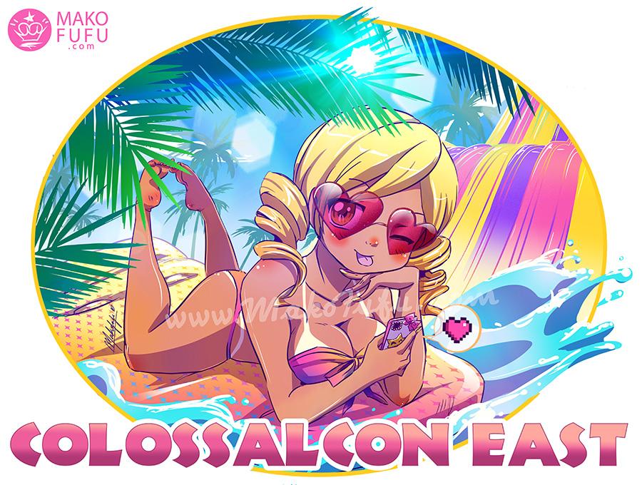 Colossal Con East 2017 - Mako Fufu by Mako-Fufu