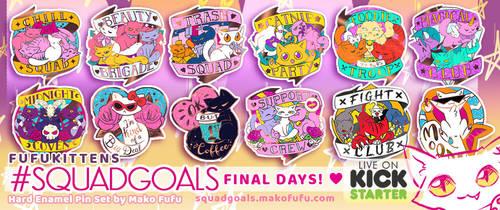 Fufukittens #Squadgoals Kickstarter - FINAL DAYS!