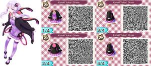 ACNL- Yuzuki Yukari Dress QR Code
