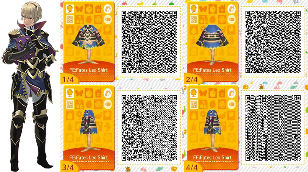 FE: Fates Leo's Outfit QR Code by ACNL-QR-CODEZ on DeviantArt on ac new leaf qr codes, animal crossing qr-codes pants, animal crossing qr code sharing, animal crossing clothing tips, animal crossing qr-codes paths, animal crossing clothing design, animal crossing qr-codes castile, animal crossing new leaf hairstyles, tomodachi life clothing qr codes, animal crossing qr-codes wallpaper, animal crossing qr-codes hats,