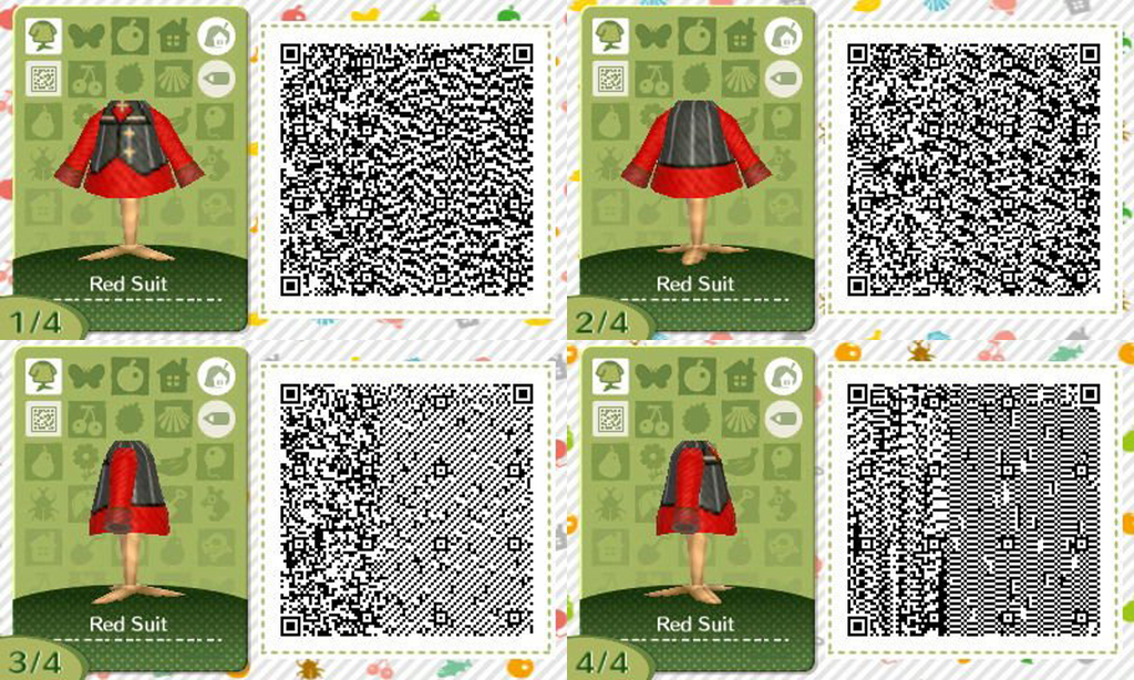 Acnl red suit qr codes by acnl qr codez on deviantart for Modern house acnl