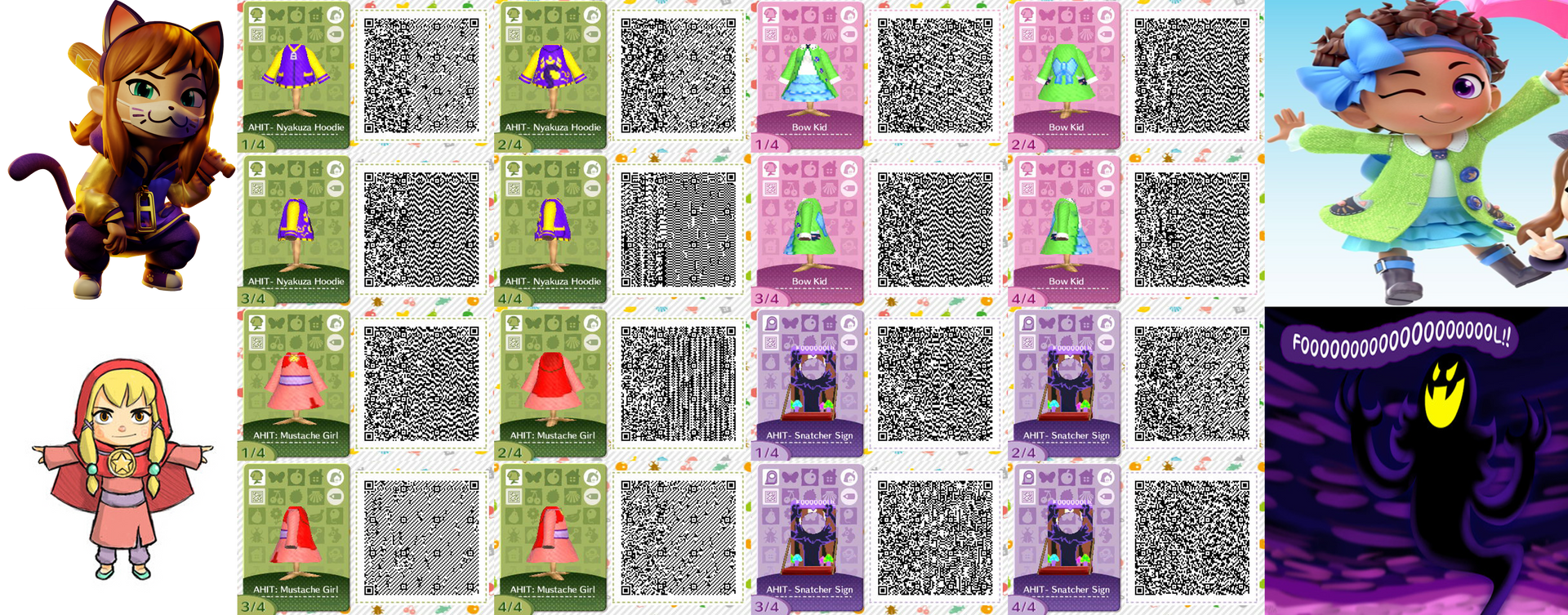 A Hat In Time Qr Patterns By Acnl Qr Codez On Deviantart