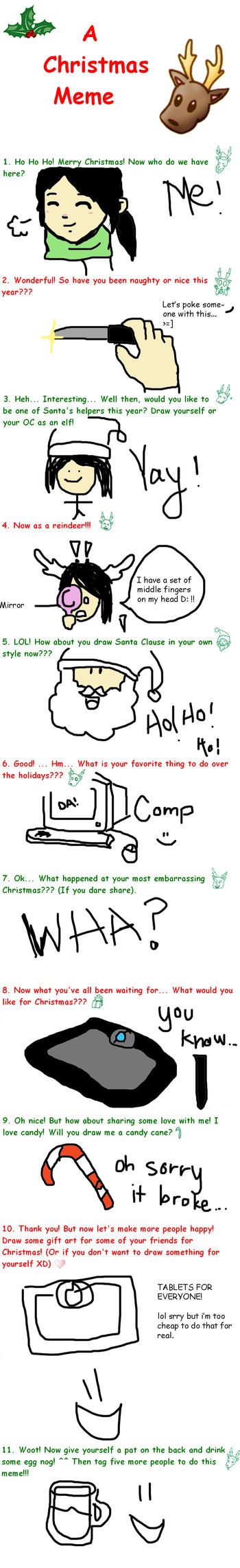 Christmas Meme by Mina321908