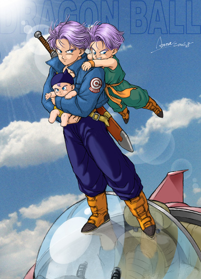 Future Goten And Trunks Fan Works Explo...