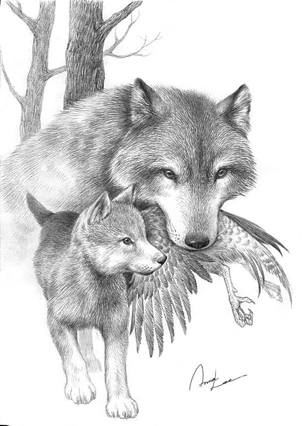 wolf_dinner