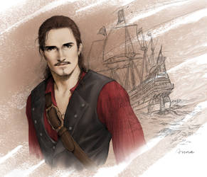 Will Turner by ilxwing