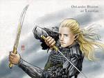 Legolas in Mirkwood