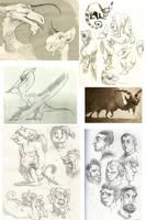 Sketchdump B by Rowkey