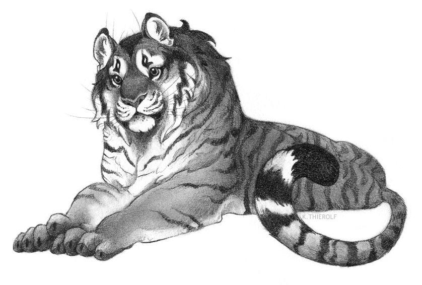 Vekke's Tiger Princess by Rowkey