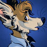 Inky Icon: Bluedog by Rowkey
