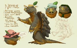 Character: NETTLE by Rowkey