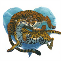 Tiger and Jaguar