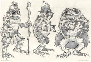 Toads Standing Up