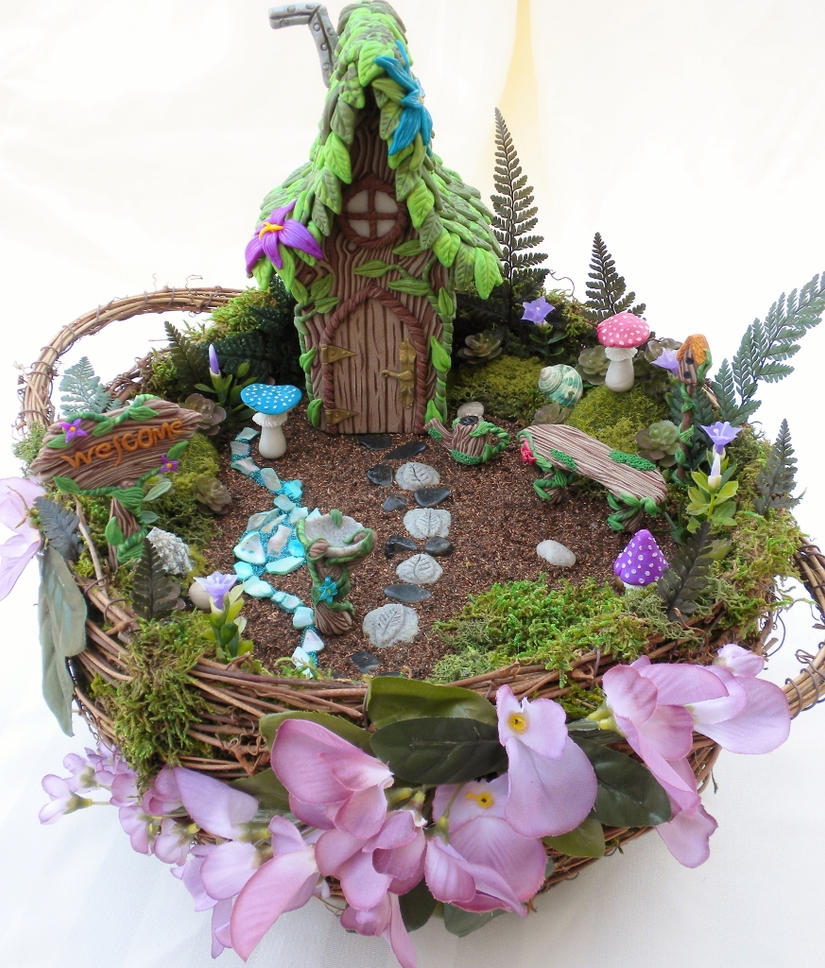 Premo! Sculpey Fairy Garden Tutorial by Minifanaticus