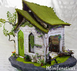 The Elven Bowyer: Miniatures.com Contest House by Minifanaticus