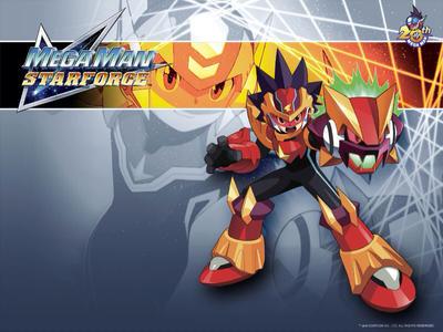 ... Wallpapers Mega Man Star Force 2: Zerker x Ninja ...