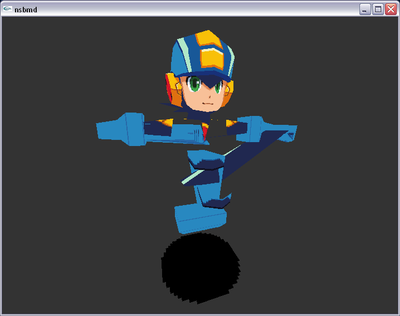 Lost MegaMan Star Force Models: MegaMan.EXE by VDPeruvian