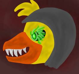 Halloween Gold94Chica by Phyrofrost