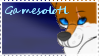 Gamesolotl stamp by Phyrofrost