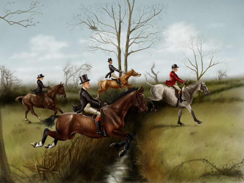 The Boxing Day Hunt by oingy-boingy