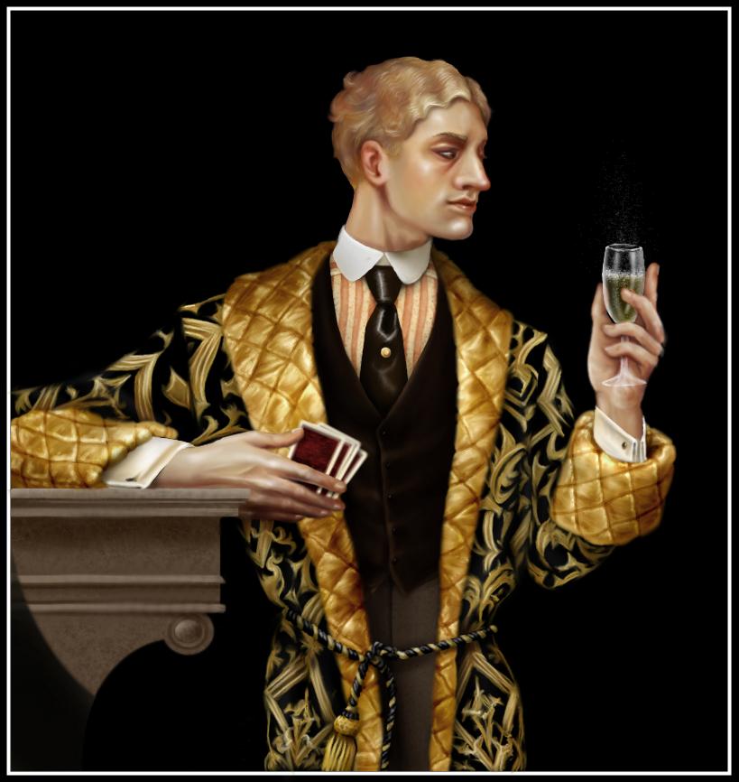 Having a happy birthday, Mr Charlton-Fletchett? by oingy-boingy