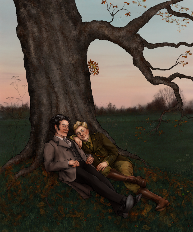 Under the Old Horse Chestnut Tree by oingy-boingy