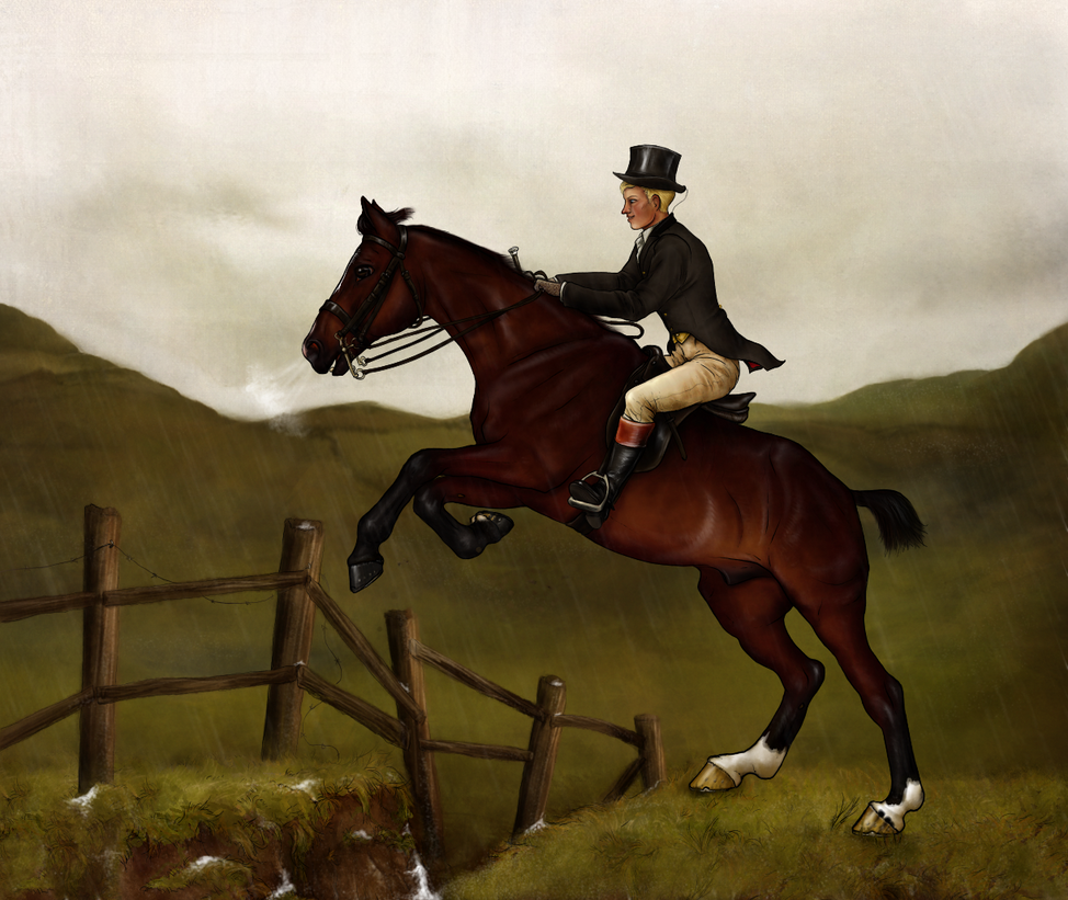 The Boxing Day Hunt : A Mighty Leap by oingy-boingy