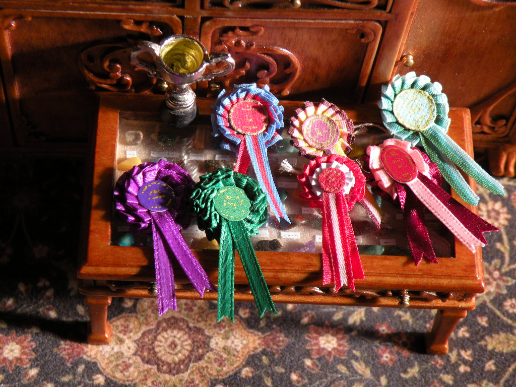 Miniature Rosettes by oingy-boingy