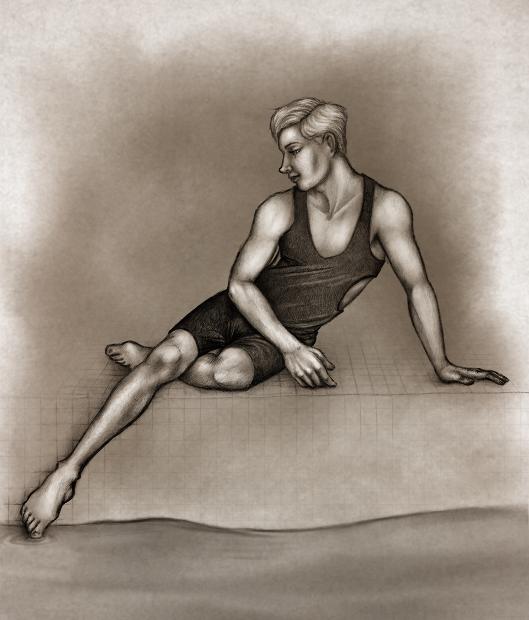 Swimwear sketch by oingy-boingy